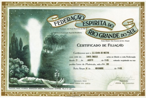 Certificado FERGS